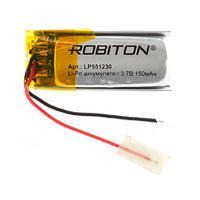 Аккумулятор Li-Po Robiton 551230 150мАч