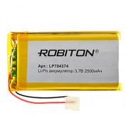Аккумулятор Li-Po Robiton 704374 2500мАч