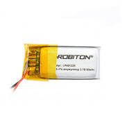 Аккумулятор литий-полимерный Li-Pol Robiton 401225 3,7В 90мАч
