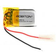 Аккумулятор литий-полимерный Li-Pol Robiton 601120 3,7В 100мАч
