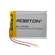 Аккумулятор литий-полимерный Li-Pol Robiton 414661 3,7В 1300мАч