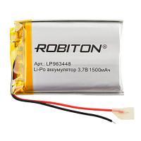 Аккумулятор литий-полимерный Li-Pol Robiton 963448 3,7В 1500мАч
