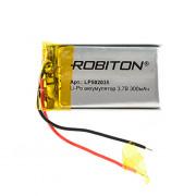 Аккумулятор литий-полимерный Li-Pol Robiton 502035 3,7В 300мАч