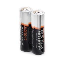 Специальные литиевые батарейки Li-SOCl2 Robiton ER14505 АА 3,6В 2шт