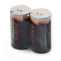 Специальные литиевые батарейки Li-SOCl2 Robiton ER26500 C 9000 мАч 3,6В 2шт