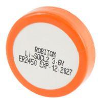 Специальная литиевая высокотемпературная батарейка Li-SOCl2 Robiton ER2450 500 мАч 3,6В
