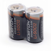 Специальные литиевые батарейки Li-SOCl2 Robiton ER34615 D 19000 мАч 3,6В 2шт