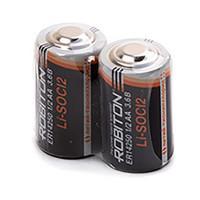 Специальные литиевые батарейки Li-SOCl2 Robiton ER14250 1/2АА 1300 мАч 3,6В 2шт