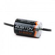 Специальная литиевая батарейка Li-SOCl2 Robiton ER14250 1/2АА 1300 мАч 3.6 В с аксиальными выводами