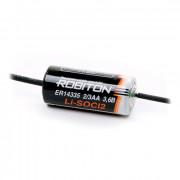 Специальная литиевая батарейка Li-SOCl2 Robiton ER14335 2/3АА 1600 мАч 3,6В с аксиальными выводами