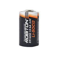 Специальные литиевые батарейки Li-SOCl2 Robiton ER14250 1/2AA 1300 мАч 3,6В 20шт