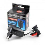 Зарядное устройство для свинцово-кислотных аккумуляторов напряжением 12 В Robiton LAC12-1000/II клеммы F2