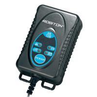 Зарядное устройство для свинцово-кислотных аккумуляторов напряжением 6 В и 12 В Robiton MotorCharger 612 зажим КРОКОДИЛ