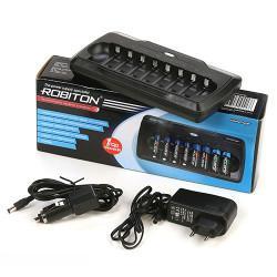 Зарядное устройство на 8 аккумуляторов Robiton VolumeCharger