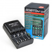 Умное зарядное устройство Robiton 3in1Charger для Ni-Zn Ni-Mh Ni-Cd на 4 аккумулятора АА и ААА