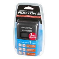Умное зарядное устройство ROBITON SmartDisplay 1000 для Ni-Mh Ni-Cd на 4 аккумулятора АА и ААА с ЖК дисплеем