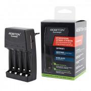 Умное зарядное устройство для алкалиновых батареек и Ni-Mh Ni-Cd аккумуляторов АА и ААА Robiton Ecocharger AK02