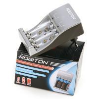 Зарядное устройство для кроны 9V, AA, AAA, Robiton Smat S500 plus