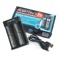 Умное зарядное устройство ROBITON Li-2 для Li-Ion аккумуляторов ICR и IMR на 2 слота