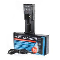 Зарядное устройство Ni-Cd, Ni-Mh, LiFePO4, Li-Ion, ICR Robiton MasterCharger 1B plus