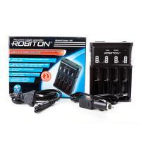 Универсальное умное зарядное устройство Robiton MasterCharger 850 для Li-Ion LiFePO4 Ni-Cd Ni-Mh
