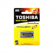 Батарейки алкалиновые Toshiba High Power AAA LR03 1,5В 2шт<br />