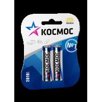 Батарейки алкалиновые Космос AA LR6 1,5В 2шт