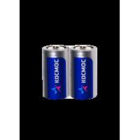 Батарейки солевые Космос C R14 1,5В 24шт