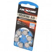 Батарейки для слуховых аппаратов Ansmann Hearing Aid 675