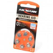 Батарейки для слуховых аппаратов Ansmann 5013243 Hearing Aid 13 PR48