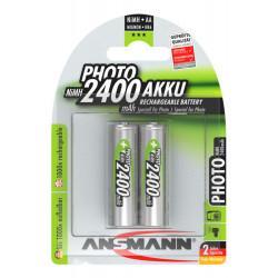 Аккумуляторы металлогидридные Ni-MH Ansmann Photo 5030492-RU AA 2500мАч 1,2В 2шт
