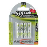 Аккумулятор Ni-MH Ansmann 5030772 MaxE AAA 550мАч 1,2В 4шт