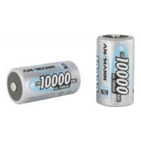 Аккумуляторы металлогидридные Ni-MH Ansmann 5030641 D LR20 10000 мАч 1,2В упаковка 10шт