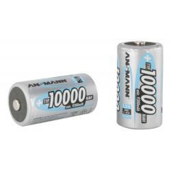 Аккумулятор Ni-MH Ansmann 5030641 D LR20 10000 мАч 1,2В упаковка 10шт