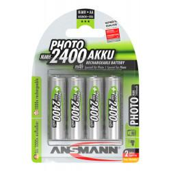 Аккумуляторы металлогидридные Ni-MH Ansmann Photo 5030482-RU AA 2500мАч 1,2В 4шт
