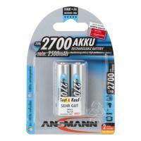 Аккумулятор Ni-MH Ansmann 5030852 AA 2700мАч 1,2В 2шт
