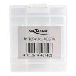 Бокс для 4xAA и 4xAAA аккумуляторов и батареек Ansmann 4000740