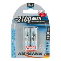 Аккумуляторы металлогидридные Ni-MH Ansmann 5030992-RU MaxE LSD AA HR6 2100 мАч 1,2В 2шт