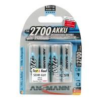 Аккумулятор Ni-MH Ansmann AA 2700мАч 1,2В 4шт