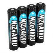 Аккумуляторы никель-цинковые Ni-ZN Ansmann 1321-0001 AAA HR03 550мАч 900 мВтч 1,65В 4шт