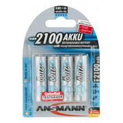Аккумуляторы металлогидридные Ni-MH Ansmann 5035052-RU MaxE LSD AA HR6 2100 мАч 1,2В 4шт