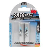 Аккумуляторы металлогидридные Ni-MH Ansmann 5035202-RU AA HR6 2850мАч 1,2В 2шт