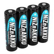 Аккумуляторы никель-цинковые Ni-ZN Ansmann 1322-0005 AA HR6 1500мАч 2500 мВтч 1,65В 4шт