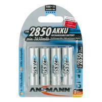 Аккумуляторы металлогидридные Ni-MH Ansmann 5035212-RU AA HR6 2850мАч 1,2В 4шт