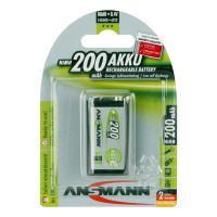 Аккумулятор металлогидридный Ni-MH Ansmann 5035342 MaxE E-Block 200мАч 9В крона 1шт