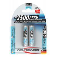 Аккумуляторы металлогидридные Ni-MH Ansmann 5035432-RU maxE AA 2500мАч 1,2В 2шт