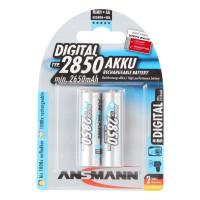 Аккумуляторы металлогидридные Ni-MH Ansmann 5035082-RU Digital AA HR6 2850мАч 1,2В 2шт