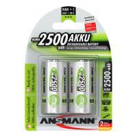Аккумуляторы металлогидридные Ni-MH Ansmann 5030912-RU maxE C 2500мАч 1,2В 2шт