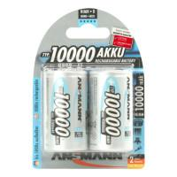 Аккумуляторы металлогидридные Ni-MH Ansmann 5030642-RU MaxE LSD D LR20 10000 мАч 1,2В 2шт