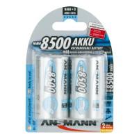 Аккумулятор Ni-MH Ansmann MaxE D 8500мАч 1,2В 2шт